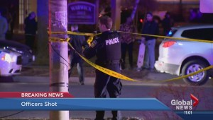 Two police officers shot in Mississauga