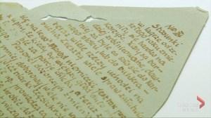 Secret letters written in urine reveal horrors of Nazi death camp