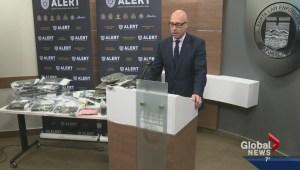 Edmonton police seize record amount of hashish