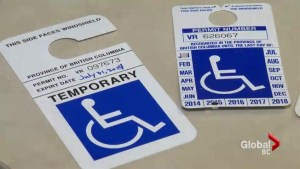 Chilliwack woman cracks down on accessible parking abusers