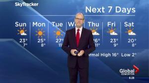 Edmonton Weather Forecast: April 30