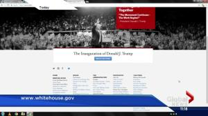Climate change mentions removed from White House website