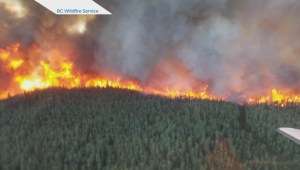 Raw: Mount Bigfoot fire