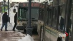 Transit drivers facing rough routes