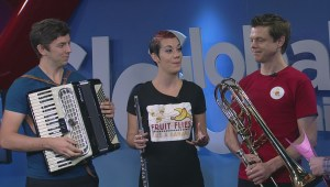Fringe performers take the stage at Global News Morning on Global Winnipeg