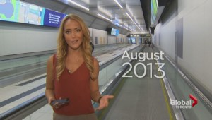 Island airport pedestrian tunnel opens after months of delays