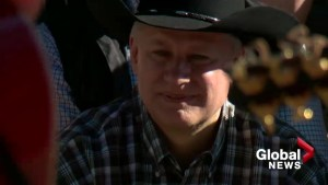 Federal party leaders wrangle votes at Calgary Stampede