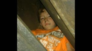 10-year-old boy 'chillaxing' on roof gets stuck in chimney