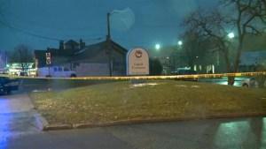 Aftermath footage of U.S. police shooting 12-year-old boy