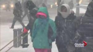 Historic blizzard hits New York before moving to Atlantic Canada