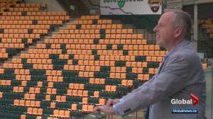 Edmonton Eskimos CEO Len Rhodes speaks about cancer diagnosis
