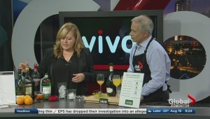 In the Global Edmonton kitchen with Vivo Restaurante