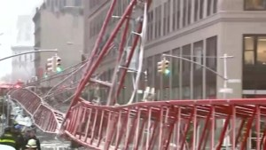 Massive NYC crane collapse kills 1, injures 3
