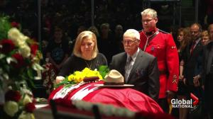 RCMP Const. David Wynn laid to rest in St. Albert