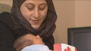 Kingston, ON marks first Syrian refugee birth