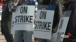 Thousands of home construction workers go on strike