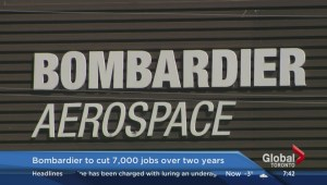 Bombardier to cut its workforce by 7,000 positions over 2 years