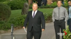 Doug Ford's Mayoral campaign has begun, but we won't see it until Saturday