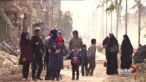 Syrian army halts operations in Aleppo to allow civilians to escape