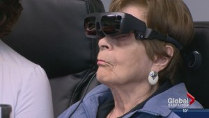 New technology helps visually impaired see again