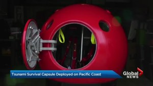 How to survive a tsunami: the capsule that could save your life