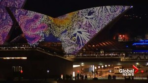 Sydney Opera House transformed during Vivid light festival