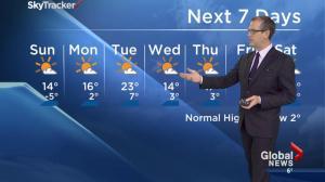 Edmonton Weather Forecast: April 25