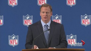 NFL commissioner Roger Goodell defends the league