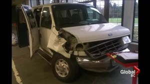 Youth outreach van wrecked by thieves