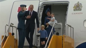 Day one of the Royal Visit to Canada
