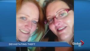 Desperate plea for dead sister's stolen belongings