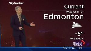 Edmonton Early Morning Weather Forecast: Nov. 28, 2016
