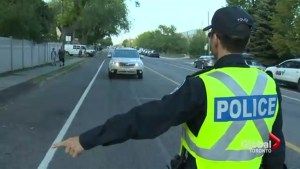 Police nab speeders on first day of school