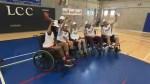 Charity wheelchair basketball tournament