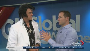 Local Elvis impersonator going to world championships