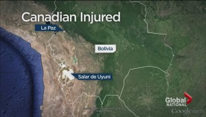 Bolivian bus crash kills 10, injures 24 including a Canadian