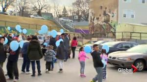 Community balloon release marks 1st anniversary of Tyler Richards homicide