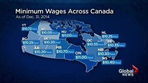 Fight to increase BC minimum wage to $15 continues