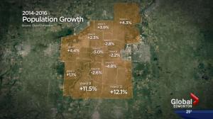 Edmonton's population expanding despite economic slump