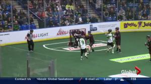 Saskatchewan Rush ready for the Colorado Mammoth