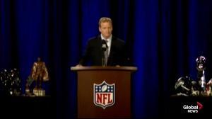 NFL commissioner Roger Goodell talks 'Deflategate'