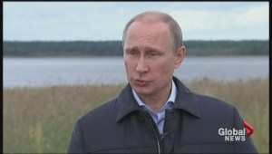 Putin speaks out as Ukraine crisis takes on new dimension