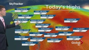 BC Evening Weather Forecast: May 7