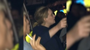 Adele visits Grenfell Tower one day after fire