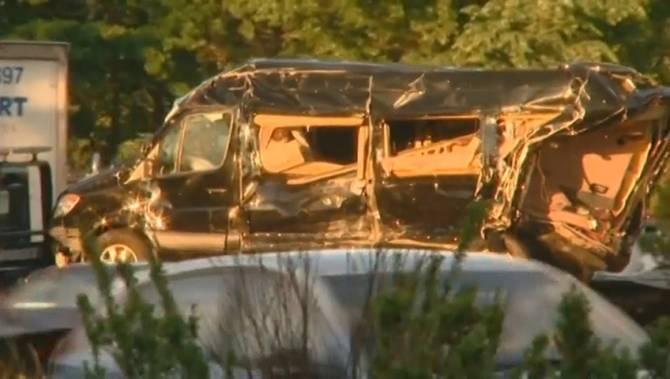 Van Johnson S Car Accident