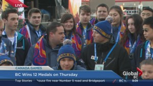 Canada Winter Games: BC wins 12 medals on Thursday