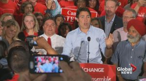 Trudeau kicks off election campaign in Calgary