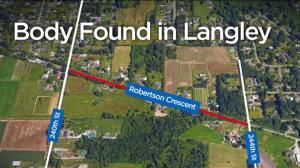 Dismembered body discovered on side of Langley road