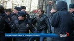 Russians take to streets to protest corruption
