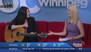 Jaylene Johnson performs new single on Global News Morning